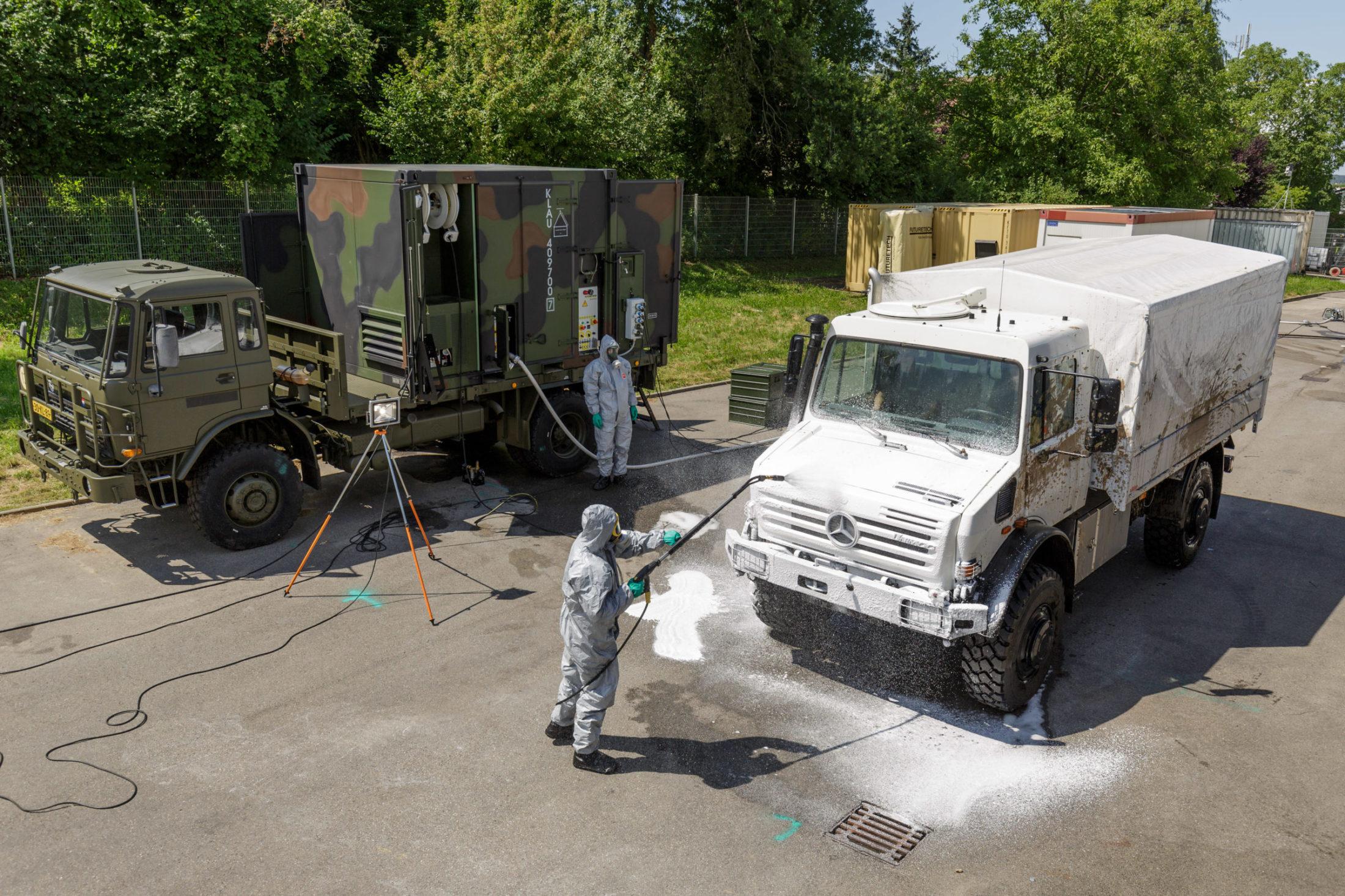 CBRN Decontamination of Vehicles - European Security & Defence