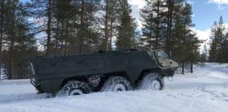 Finland Latvia Patria 6x6
