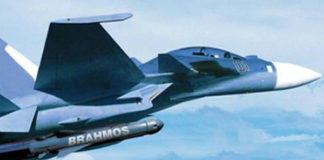 Indian BrahMos Launch