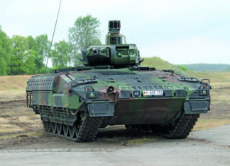 PUMA is a prominent European AFV