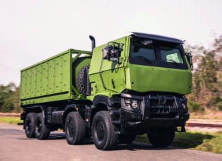 Example of a Modern Logistics Trucks