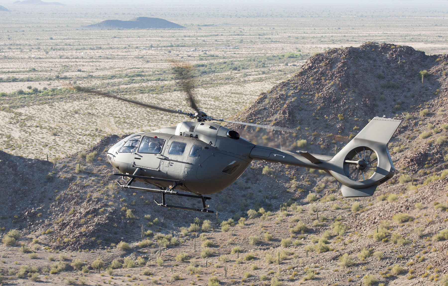 Airbus delivers first UH-72B Lakota to US Army National
