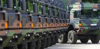 Rheinmetall Bundeswehr Logistics Trucks
