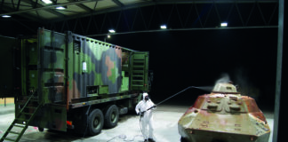 Military Mobile Decontamination Systems